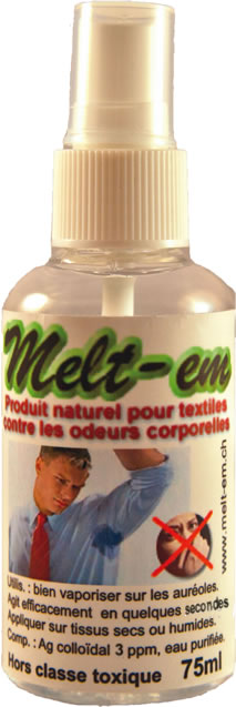 Melt-em bouteille vaporisateur de 75 ml
